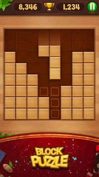 Block Puzzle - Wood Legend APK screenshot 1