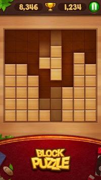 Block Puzzle - Wood Legend APK screenshot 1