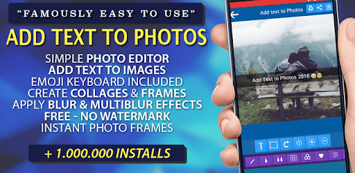 Add Text to Photo App (2018) pc screenshot