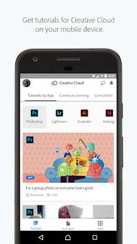 Adobe Creative Cloud APK screenshot 1