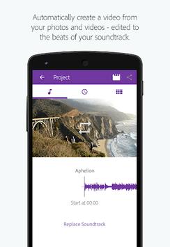 Adobe Premiere Clip APK screenshot 1