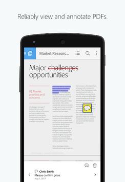 Adobe Acrobat Reader APK screenshot 1