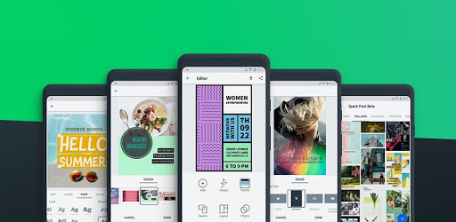Adobe Spark Post: Graphic design made easy pc screenshot
