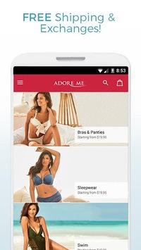 Adore Me – Designer Lingerie APK screenshot 1