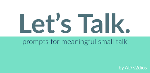 Let's Talk. prompts for meaningful small talk. pc screenshot
