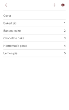 My Cookbook APK screenshot 1