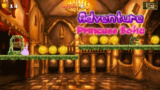 Adventure Princess Sofia Run - First Game APK screenshot 1