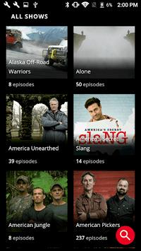 HISTORY: Watch TV Show Full Episodes & Specials APK screenshot 1