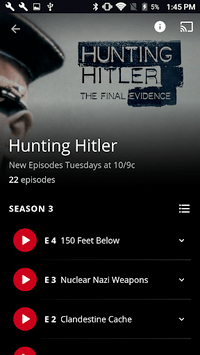HISTORY: Watch TV Show Full Episodes & Specials APK screenshot 1
