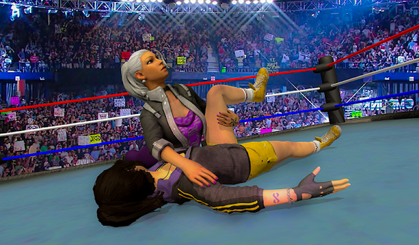 Women Wrestling Championship 3d Girl Fighting APK screenshot 1