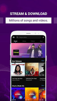 Boomplay - Music & Video Player APK screenshot 1