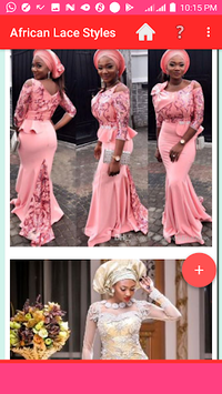 AFRICAN LACE STYLES 2018 APK screenshot 1
