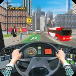 Modern School Bus Driving Games icon