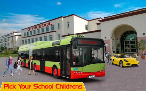 Modern School Bus Driving Games APK screenshot 1