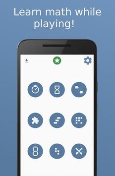 Math games APK screenshot 1