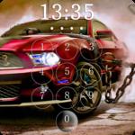 Super Racer Car Lock Screen Wallpaper FOR PC