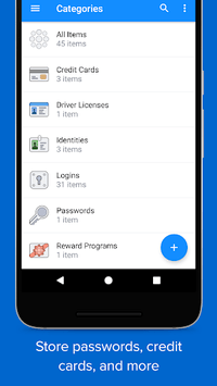 1Password - Password Manager and Secure Wallet APK screenshot 1