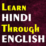 Learn Hindi through English icon