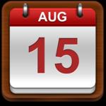 South Korean Calendar icon