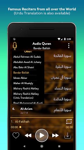 Audio Quran (No-Ads) - Mp3 Quran Offline / Online APK screenshot 1