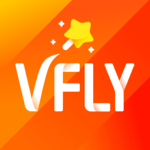 VFly - Video editor, Video maker, Video status app icon