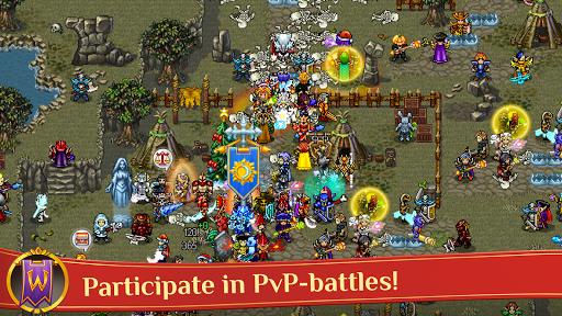 Warspear Online (MMORPG, RPG, MMO) APK screenshot 1