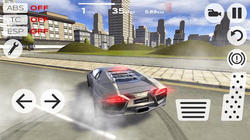 Extreme Car Driving Simulator APK screenshot 1