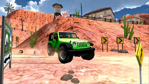 Extreme SUV Driving Simulator APK screenshot 1