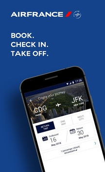 Air France - Airline tickets APK screenshot 1