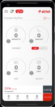 Airtel MyPlan APK screenshot 1