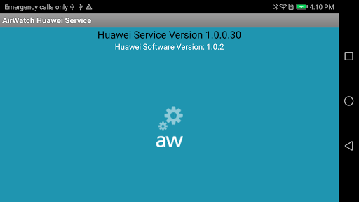 AirWatch Service for Huawei APK screenshot 1