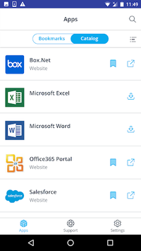VMware Workspace ONE APK screenshot 1