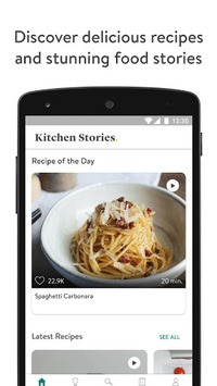 Kitchen Stories - Recipes & Cooking APK screenshot 1