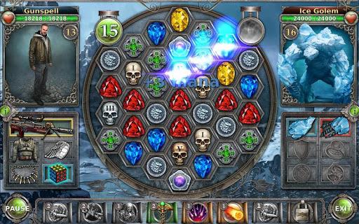 Gunspell - Match 3 Battles APK screenshot 1
