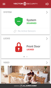 Vector Security APK screenshot 1