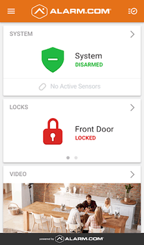 Alarm.com APK screenshot 1