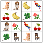 Brain game. Picture Match. for pc icon