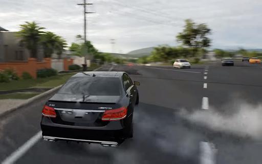 Car Driving Mercedes AMG Simulator APK screenshot 1
