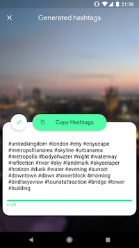 Hashtagify - Automated Hashtags for Instagram APK screenshot 1