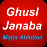 Ghusl Janabat - major ablution icon