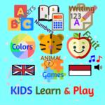 Paket Belajar Lengkap Anak PAUD TK - 2 Bahasa APK icon