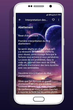 Interpretation des Reves APK screenshot 1