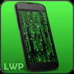 Digital Matrix Code Rain Live Wallpaper FOR PC
