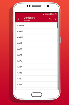 Medical Abbreviation Dictionary APK screenshot 1
