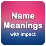 Name Meanings with Impact for pc icon