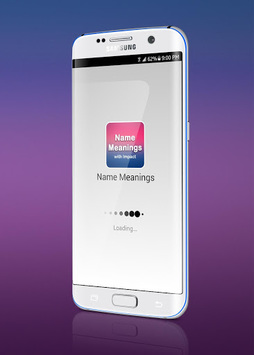 Name Meanings with Impact APK screenshot 1