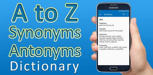 Synonyms Antonyms Dictionary pc screenshot