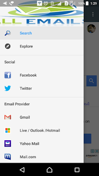 All Email Providers | Feed APK screenshot 1