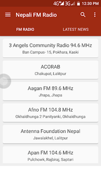 Nepali FM Radio & Nepali News APK screenshot 1