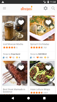 Allrecipes Dinner Spinner APK screenshot 1